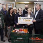 Spende der Lidl-Kundschaft für die Tafel Walldorf – 5.000 Euro per Knopfdruck