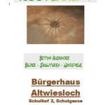 Kunstausstellung im Bürgerhaus in Altwiesloch