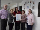 Walldorf: Pflegezentrum Astor-Stift erhielt Auszeichnung