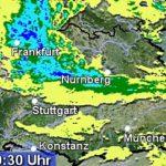 DWD: WARNLAGEBERICHT:  STARKES GEWITTER möglich (-Rhein-Neckar-Kreis und Stadt Heidelberg-)