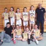 """Basketball """"Wildbees"""" Sandhausen – U12w: Wir waren so nah dran!"""