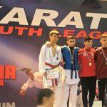 Karate: 3. Platz bei WKF K1 Youth League