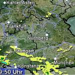 DWD VORAB-INFORMATION  vor SCHWEREM GEWITTER  für Rhein-Neckar-Kreis und Stadt Heidelberg