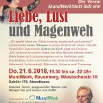 Liebe, Lust und Magenweh am 21.06. in Rauenberg