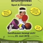 Morgen, Samstag, 23.06.: Sandhäuser Brunnenfest
