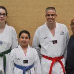 "2 Goldmedaillen auf dem ""Black Tiger Cup"" Poomsae"