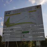 Baufortschritt Hochwasser-Rückhaltebecken Schatthausen kurz vor der Fertigstellung