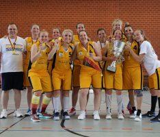Basketball Sandhausen: Wild Bees-Damen Ü35 sind DEUTSCHER MEISTER!