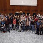 Klasse aus Rambersvillers zu Gast in Walldorf