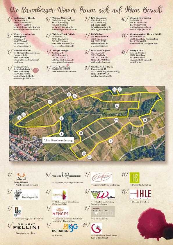 4. Rauenberger Weinwanderung