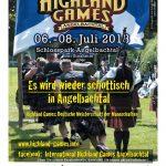 Highland Games in Angelbachtal – Jetzt am Wochenende