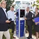 Rhein-Neckar-Kreis nimmt Ladestation in Wiesloch in Betrieb