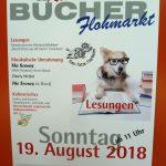 Heute: Kulinarischer Bücherflohmarkt im Tom-Tatze-Tierheim