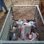 Illegale Müllablagerung am Bussierhäusle