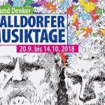 """""""Walldorfer Musiktage"""" auf den Spuren des """"bekanntesten Unbekannten"""""""