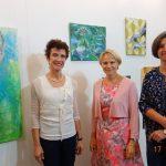 Vernissage zur Jubiläumsausstellung der Künstlergruppe Walldorf