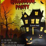 Kinder-Halloween-Party an der Reservistenhütte