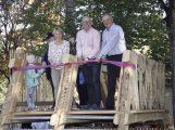 Streichelzoo als neue Attraktion des Tierparks Walldorf eröffnet
