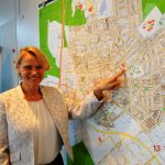 """Bürgermeisterin Christiane Staab """"für Walldorf"""" im Gespräch"""
