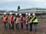 'Spatenstich' zum Bau der Gemeinschaftsschule und der Fachräume Realschule