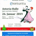 Ball der Constantia 2019 am 26. Januar
