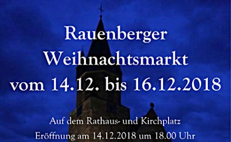 Rauenberger Weihnachtsmarkt 2018