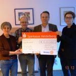 WiWa Familie-Berufspaten freuen sich über eine Spende des Rotary Clubs