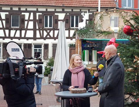 Ron TV berichtet über Wiesloch und den Weihnachtsmarkt