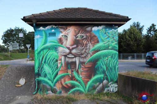Säbelzahntiger! Wiesloch's Nachbargemeinde Mauer