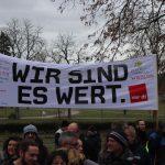 Erster Kurzwarnstreik im Psychiatrischen Zentrum Wiesloch