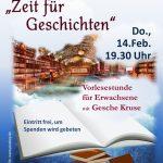 """""""Zeit für Geschichten"""" am 14.02. in Rauenberg"""