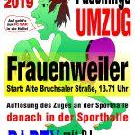 Faschingsumzug in Wiesloch-Frauenweiler 02.03.2019