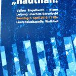 """Der Heidelberger Jazzchor """"hautnah!"""" in der Laurentiuskapelle"""