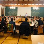 """Pizza & Politik"" mit Lars Castellucci in Wiesloch"