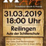 """""""Kurpfälzer Musik und Poesie"""" in Reilingen am 31.03."""