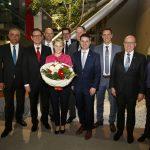 Walldorf: Amtseinführung von Bürgermeisterin Christiane Staab