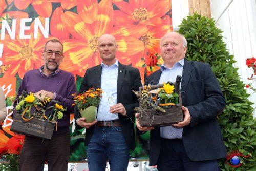 Volker Kugel, Dirk Elkemann und Jochen Reiss (v.l.n.r.)