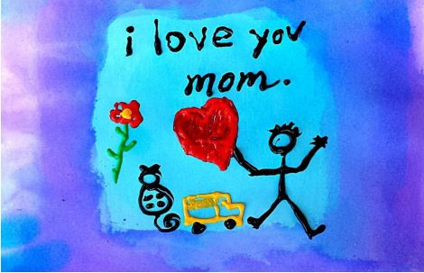 Kreativ zum Muttertag