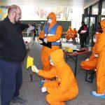 Katastrophenenübung einer Notfallstation