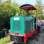 1. Mai in Wiesloch beim Feldbahnmuseum