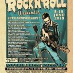 20. Rock'n'Roll-Weekender vom 08. bis 10. Juni 2019 in Walldorf
