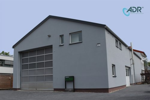 Neue ADR Produktionshalle in der Ludwig-Wagner-Straße 11