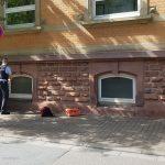 Verfolgung in der Wieslocher Innenstadt
