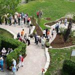 Hospiz Agape beim Tag der offenen Gärten am 19. Mai