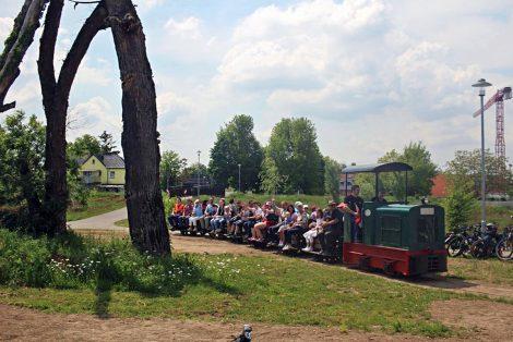 Sommerfahrtag mit der Wieslocher Feldbahn
