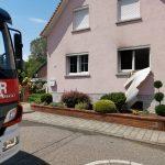 Mühlhausen: Brand in Wohnhaus