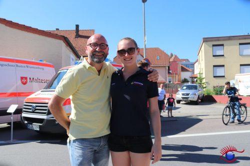Stefan Zirkel und seine Tochter Mona