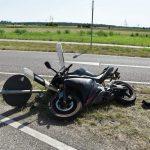 Motorradfahrer bei Unfall auf B535 verletzt