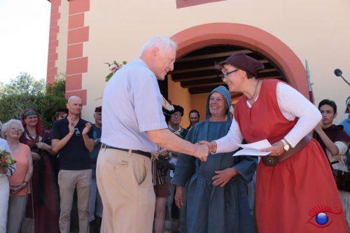 Barbara Dortants und Freiherr Klaus Göler von Ravensburg
