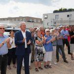 """Haus am Kreisel"" feierte Richtfest – Spende der Hopp-Stiftung"